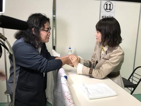 【NGT48】西潟茉莉奈の握手会レーンにイッテるヲタが現れるwww