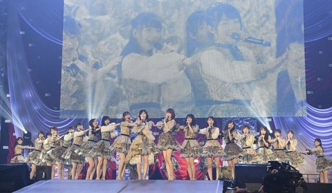 【AKB48】50th「11月のアンクレット」に一曲も参加していない本店メンバー