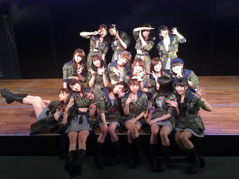 【AKB48G】劇場公演で体験したエロい思い出ってある?