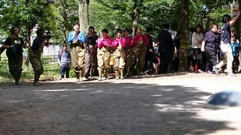【AKB48】峯岸横山大家向井地加藤がテレ東人気番組「池の水全部抜く」のロケに参加
