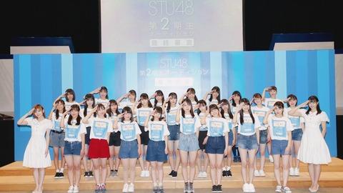 【STU48】2期生オーディション合格最少得票数143www