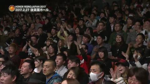 【SKE48】松井珠理奈さん、後楽園ホールでプロレス観戦