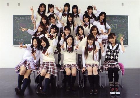 【AKB48】シングル曲の最高傑作って結局これだよな