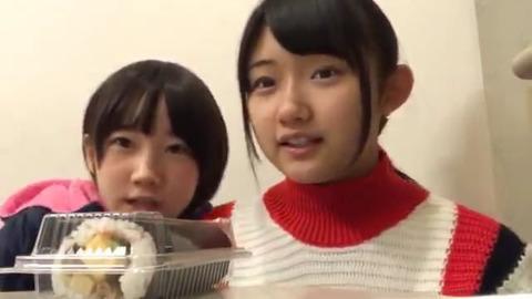 【STU48】門脇実優菜と甲斐心愛の二人羽織配信が面白くて可愛い