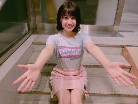 【HKT48】・・・おや!?朝長美桜ちゃんのようすが・・・!