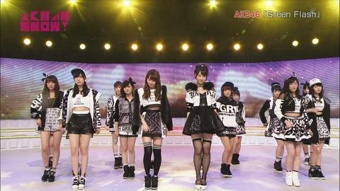 【AKB48】Green Flashはミリオン維持できてよかったのか悪かったのか