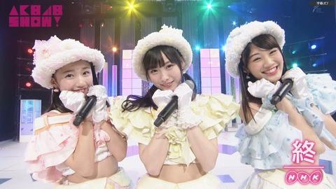 【悲報】NHK-BSプレミアム「AKB48SHOW!」終了まであと3回