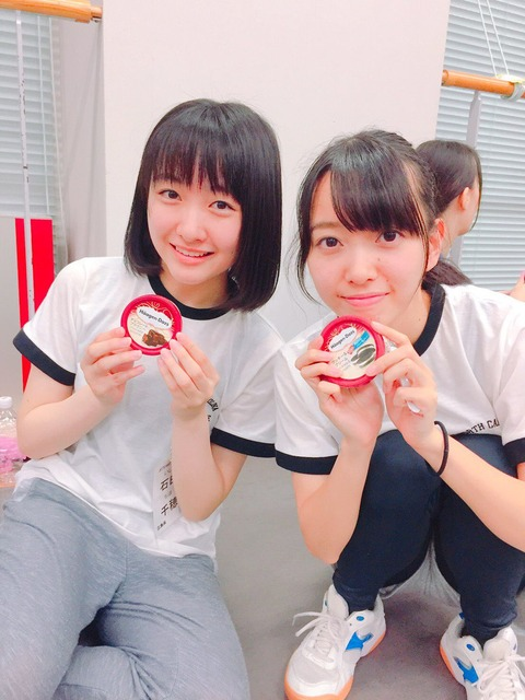 【朗報】船長岡田奈々がSTU48メンバー全員にハーゲンダッツを差し入れ!!!