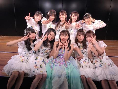 【AKB48】27日のチームB公演でチームBのメンバーが半分以下wwwww