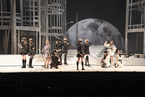 【AKB48】大西桃香主演、谷口めぐ出演の舞台少女ヨルハがトレンド入りで完売御礼