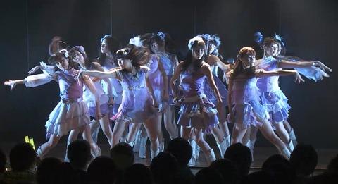 【悲報】高橋朱里チーム4「夢を死なせるわけにいかない」公演、16人中9人がMC不参加