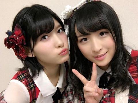 【AKB48】めぐちゃんってさややのお●ぱいを生で触ったことあるのかな?【谷口めぐ・川本紗矢】