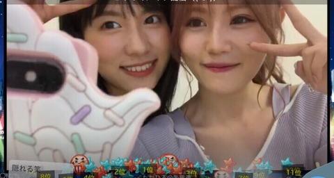 【AKB48】込山榛香&谷口めぐ「SHOWROOMのポイントはメンバーにお金が入る、その支援で旅行に行きたい。」