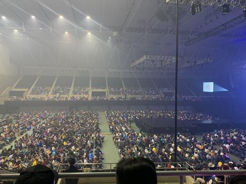 【悲報】SKE48コンサートの暗幕&空席ガラガラにヲタの怒り爆発 「アホの運営が調子に乗ってデカイ会場を抑えてガラガラ、悲しみに暮れてるよ。」