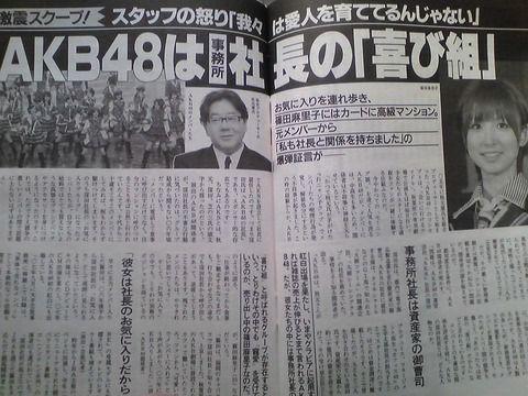 【文春裁判】AKS窪田の勝利!文春に165万円賠償命令