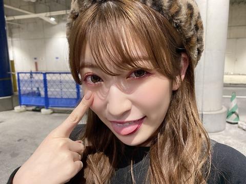 -【NMB48】吉田朱里が「染めたらあかんおじさん」を煽る