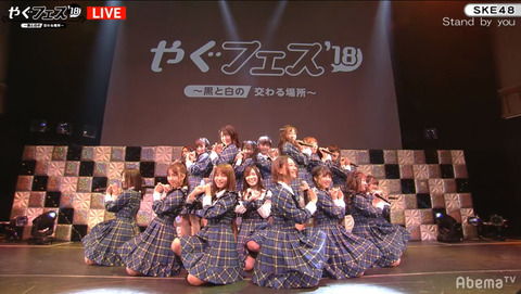【SKE48】ヤグフェスには出演した松井珠理奈さんが自分の生誕祭には一部出演な理由は何ですか?