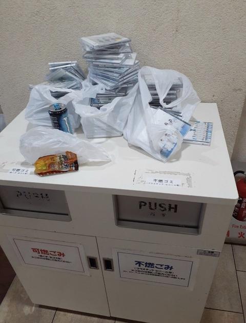 【悲報】STU48の握手会会場に大量のCDが捨てられてしまう