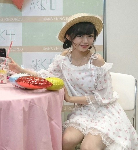 【NGT48】中井りかちゃん写メ会でお疲れの様子