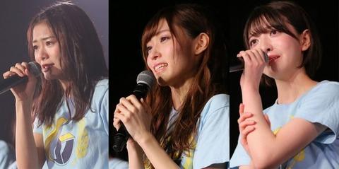 【NGT48】山口真帆、菅原りこ、長谷川玲奈は筋を通して辞めたのに、何故疑惑メンはしがみ付いたまま全員に迷惑を掛け続けるのか?