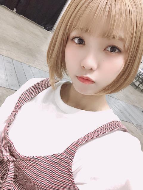 【AKB48】髙橋彩音の金髪って似合ってると思う?