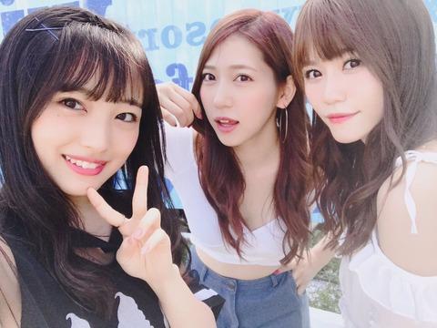 【AKB48】向井地美音、込山榛香、茂木忍の3人で念願のBBQ!