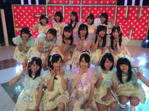 【悲報】チーム8のセンターが山田菜々美じゃない!!!