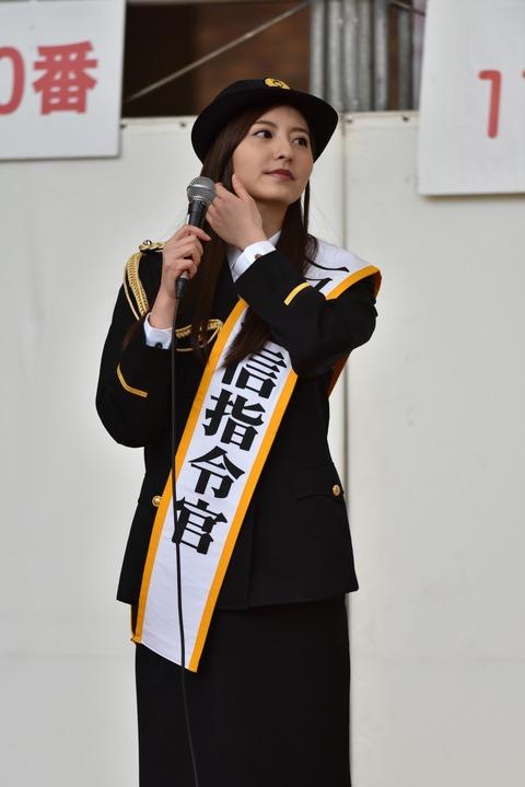 【画像】HKT48森保まどかさん、長崎県警の一日通信指令官を務める