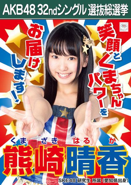 【悲報】SKE48熊崎晴香ちゃんが花道から落下で全治3ヶ月