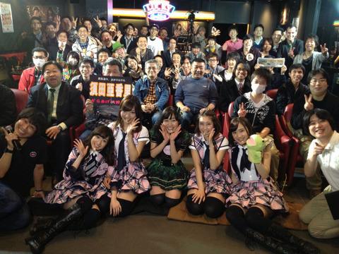 【AKB48】あん誰の客席ににいる奴らのむさ苦しさ