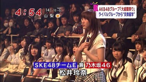 松井玲奈の乃木坂46兼任って結局何の意味があったの?