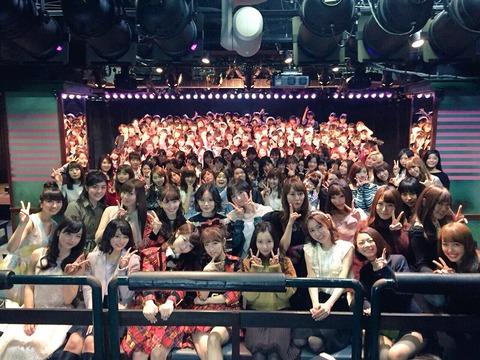 【AKB48G】なんでいつまでたっても劇場で客入れてライブをやらないの?