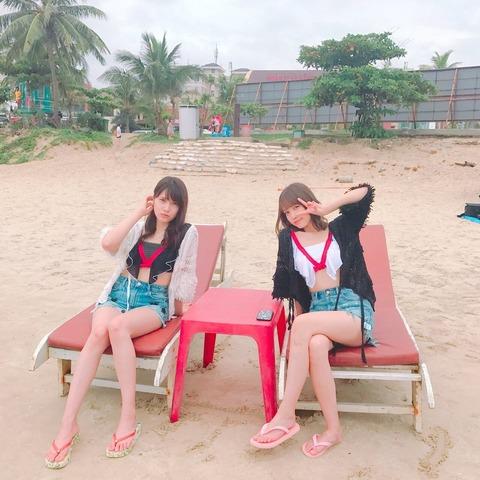 【AKB48】あんにんとれなっちがベトナムに行ってるんだが何してんの?【入山杏奈・加藤玲奈】