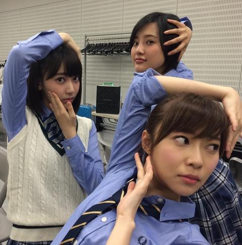 【HKT48】指原莉乃、宮脇咲良、兒玉遙のPerfumewwwwww