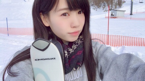 【HKT48】この子以上に雪山が似合うメンバーいる?【運上弘菜】