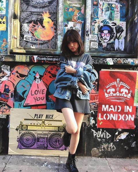 【AKB48】加藤玲奈さん、ロンドンで雑誌sweetの撮影!!!