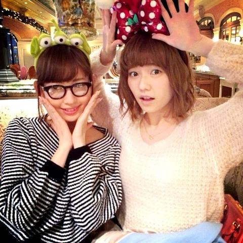 【AKB48】小嶋陽菜と島崎遥香は何しても許されてる件