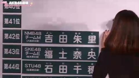 【NMB48】吉田朱里「今年で総選挙は最後なので、みなさん投票して下さい。」