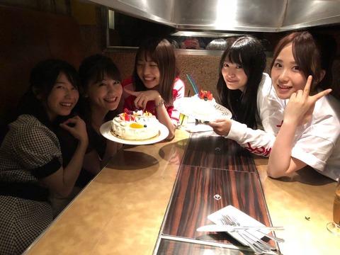 【AKB48】こじまこ誕生会にいつメンが大集合wwwwww【小嶋真子】