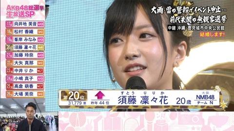 【NMB48】須藤凜々花、松村香織に謝っていた