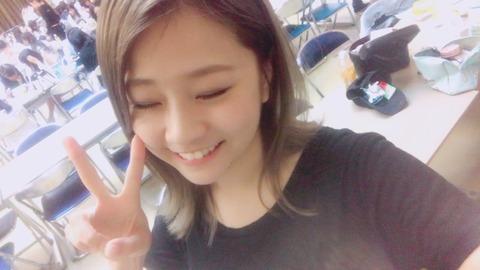 【悲報】AKB48島田晴香さん、最後の総選挙もひっそりと圏外で終了