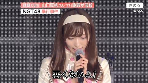 【NGT48】武井壮「二次的な被害の前に一次的被害者である山口真帆さんを守らないんだったら、何が大事なんですかね?」