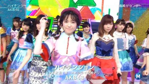 【AKB48】「ハイテンション」のメロディラインとアレンジが秀逸【再評価】