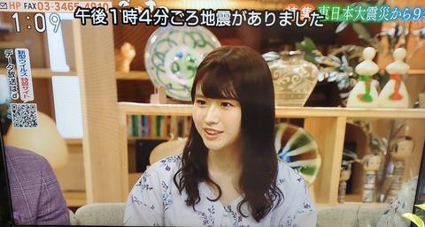 【朗報】NHKにあかりんキタ━━━━(゚∀゚)━━━━!!【AKB48・佐藤朱】