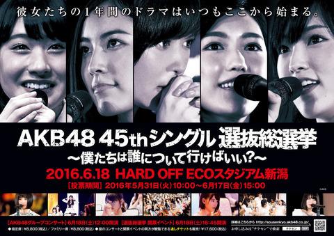 【AKB48総選挙】第一党グループに新公演って言ってるけど秋元康は新公演作れるの?