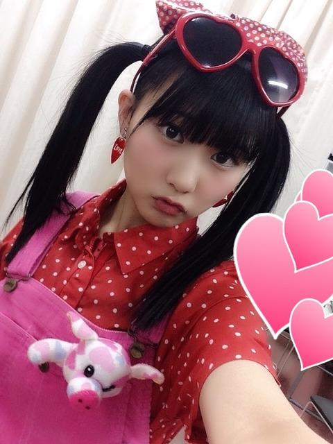 【悲報】HKT48田中美久さんが急成長、完全にオトナのカラダに・・・