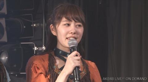【AKB48】岡田彩花が劇場公演にて卒業発表