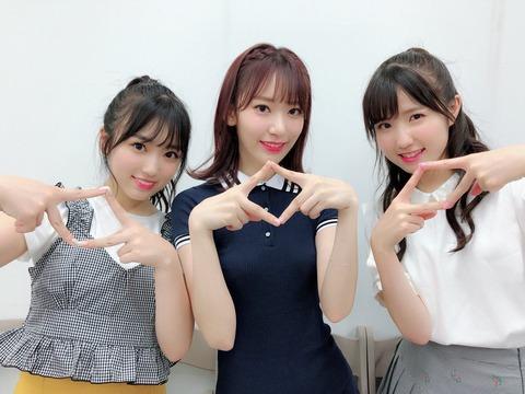 【IZ*ONE】宮脇咲良さんと矢吹奈子さんがモバメの配信を再開