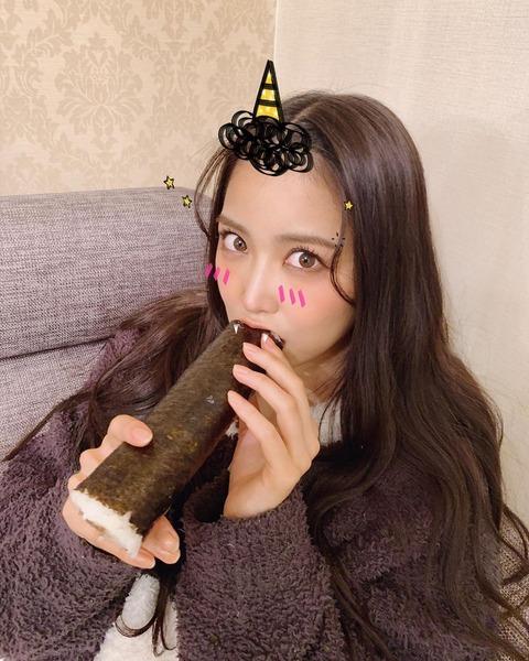 【AKB48G】メンバーと恵方巻きの画像が集まるスレ