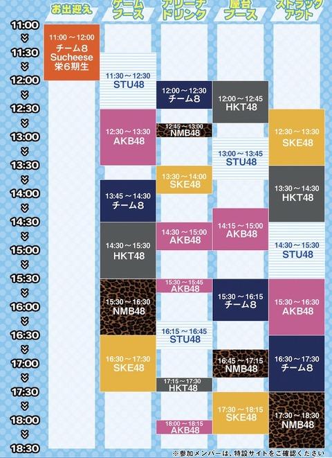 【朗報】AKBグループ春フェス、全ての時間で撮影OK!!!